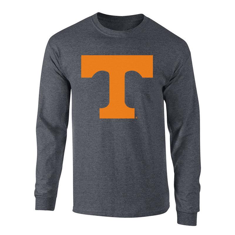 Tennessee Volunteers Long Sleeve Tshirt Charcoal P0006205