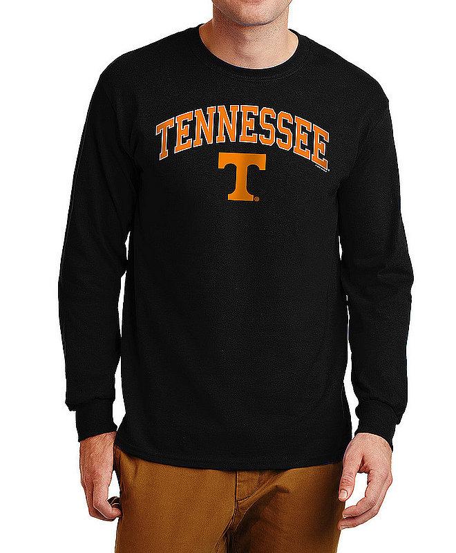 Tennessee Volunteers Long Sleeve TShirt Varsity Black APC03006956