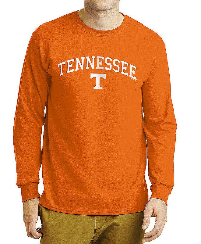Tennessee Volunteers Long Sleeve TShirt Varsity Orange APC02886285--TENNCHSC3265