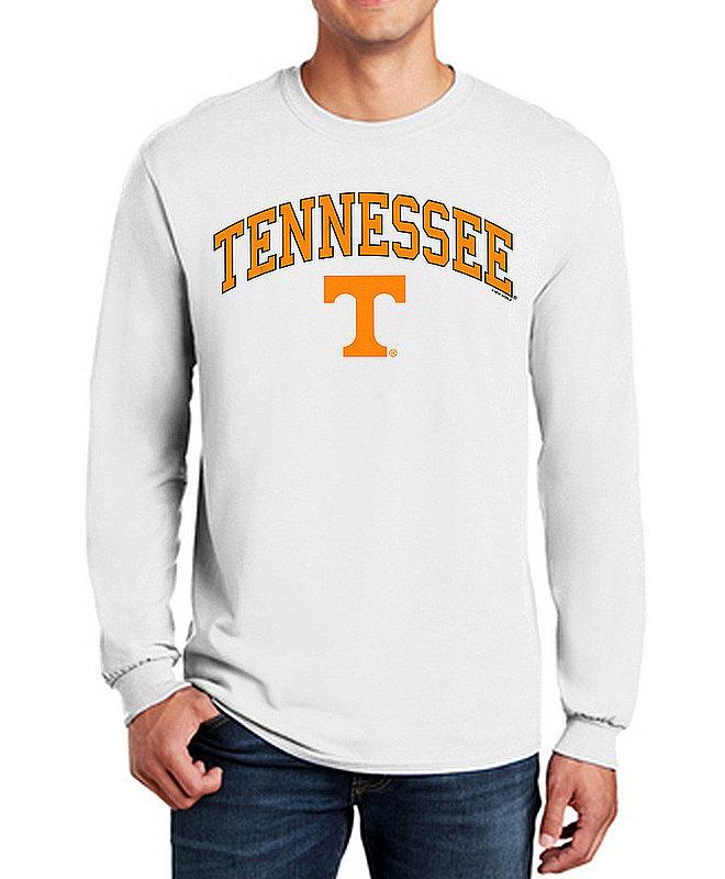 Tennessee Volunteers Long Sleeve Tshirt Varsity White APC03006379