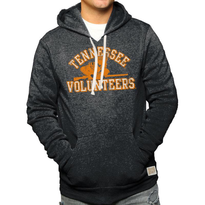 Tennessee Volunteers Retro Hooded Sweatshirt Charcoal RB6090