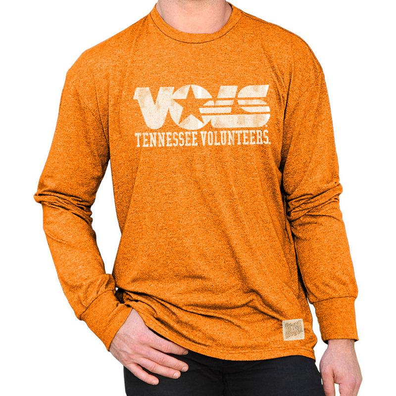 Tennessee Volunteers Retro Long Sleeve TShirt Orange CTEN099A_MTTO