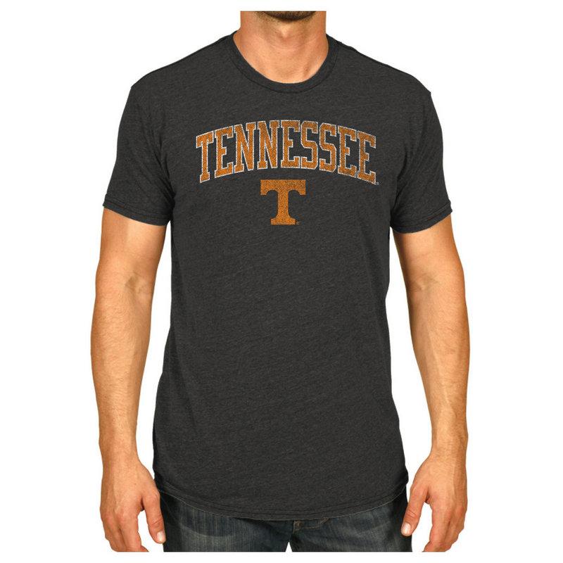 Tennessee Volunteers Vintage Tshirt Charcoal Victory TENV1412B_TV7051M_HBK