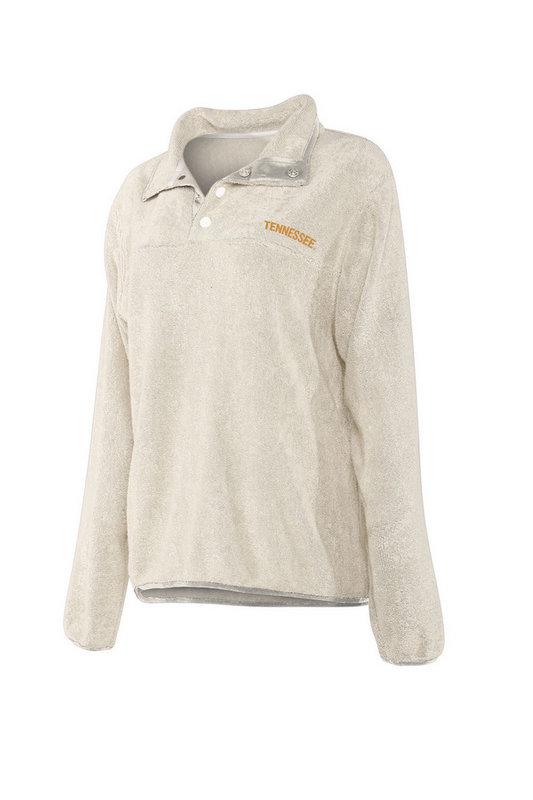 Tennessee Volunteers Women's Snap Pullover Sweatshirt 439-32-TN443