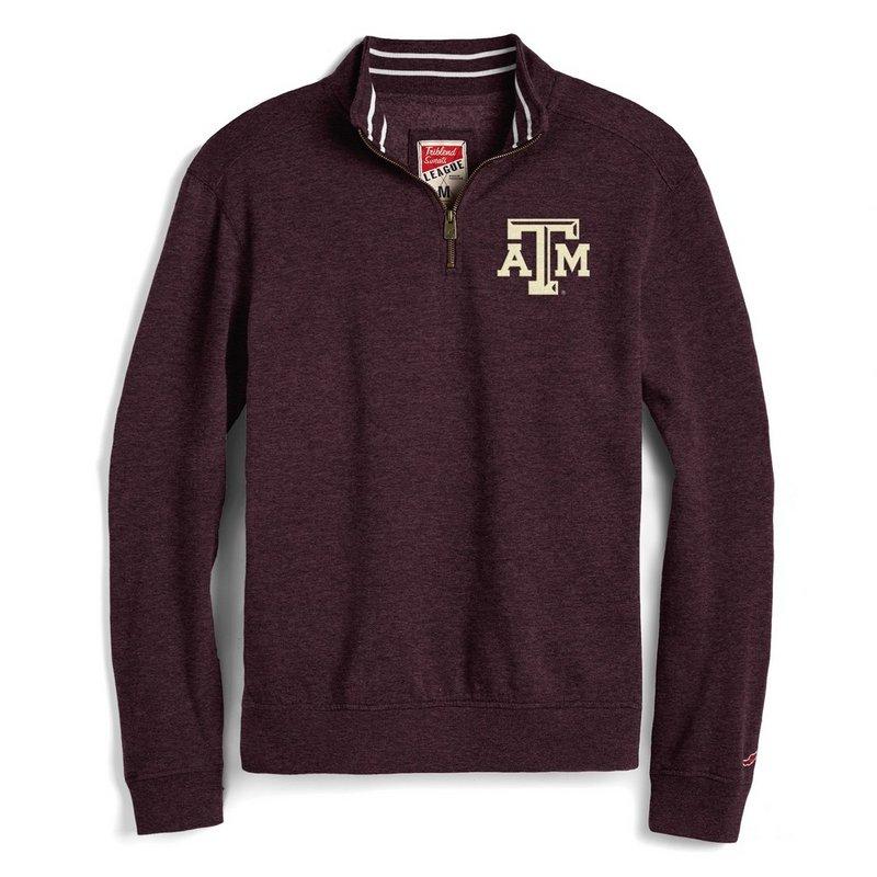 Texas A&M Aggies 1/4 Zip Sweatshirt Maroon R11-80091