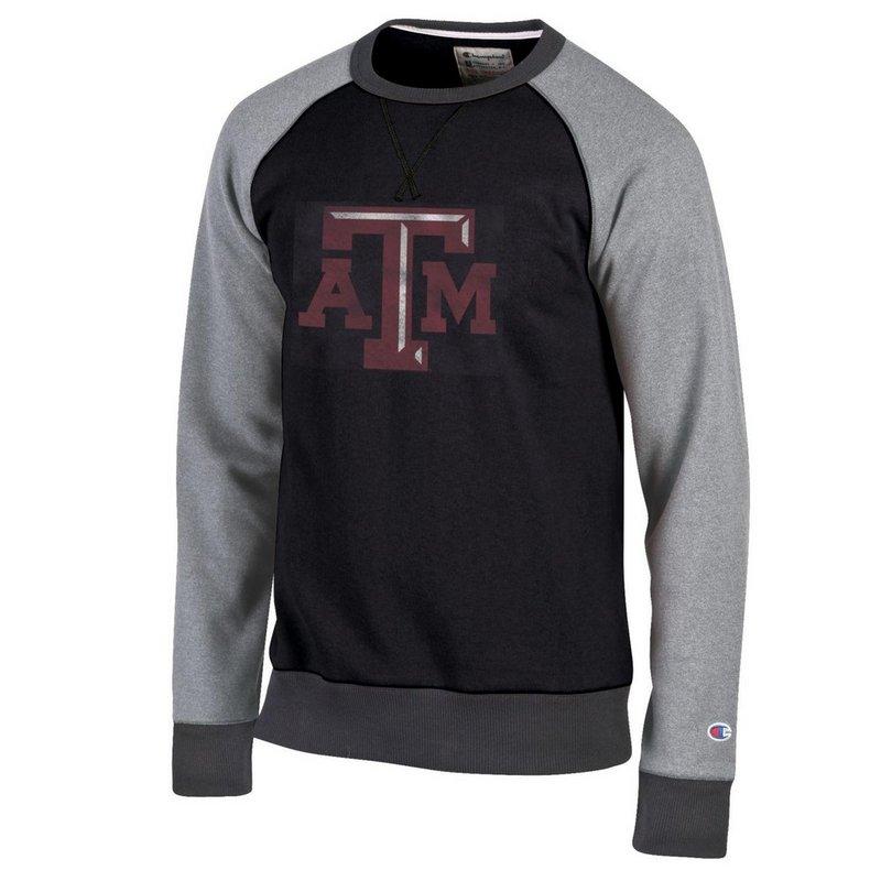Texas A&M Aggies Crewneck Sweatshirt Black APC02790234