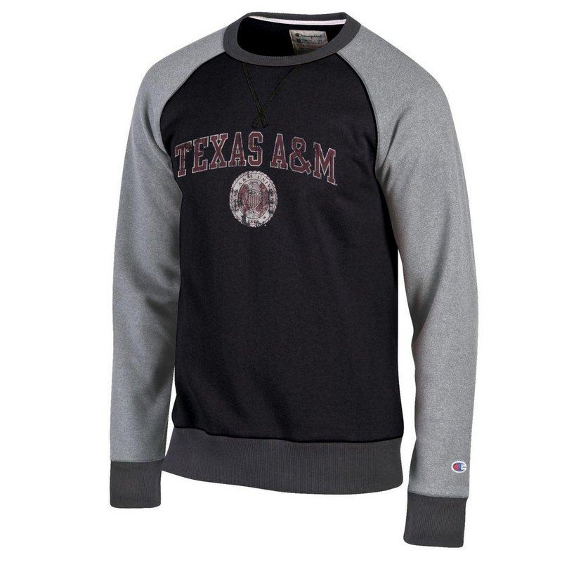 Texas A&M Aggies Crewneck Sweatshirt Black