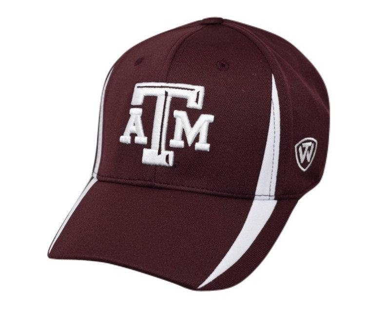 Texas A&M Aggies Fitted Hat Icon Maroon TRMPH-TXAM-1FT-TMC4