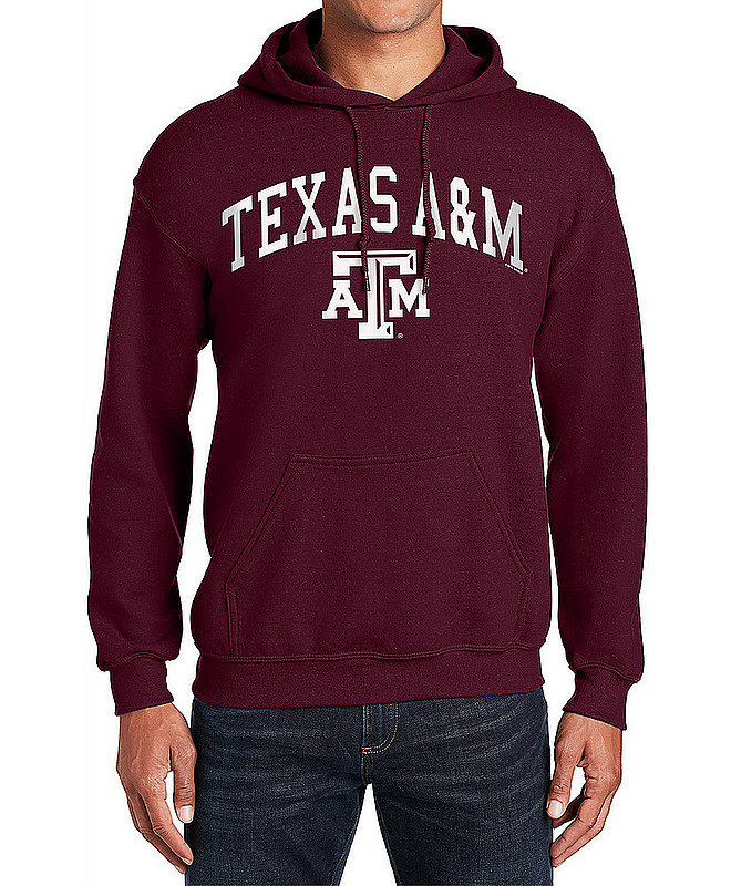Texas A&M Aggies Hooded Sweatshirt Varsity Maroon APC02880037