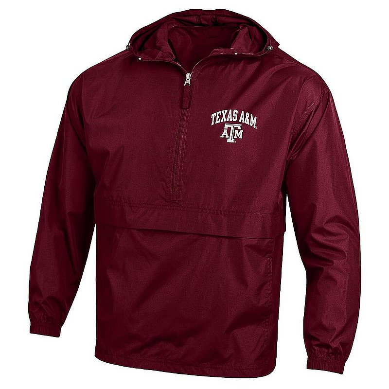 Texas A&M Aggies Packable Jacket Maroon APC02990821