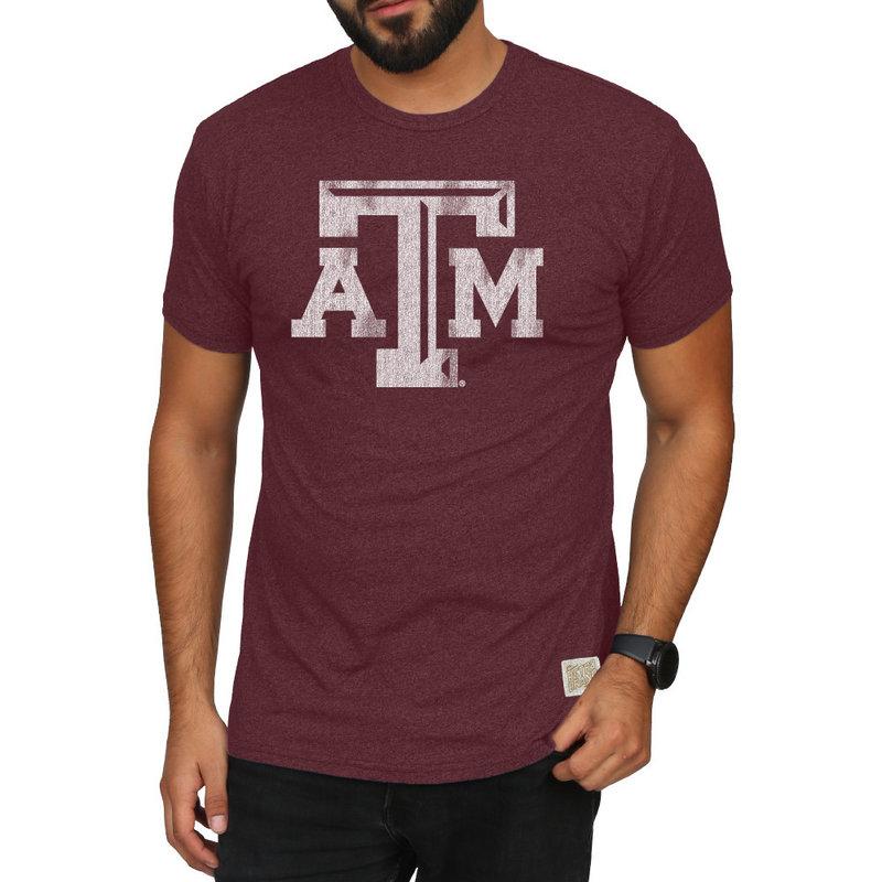 Texas A&M Aggies Retro TShirt Maroon CTAM065A_MTDM
