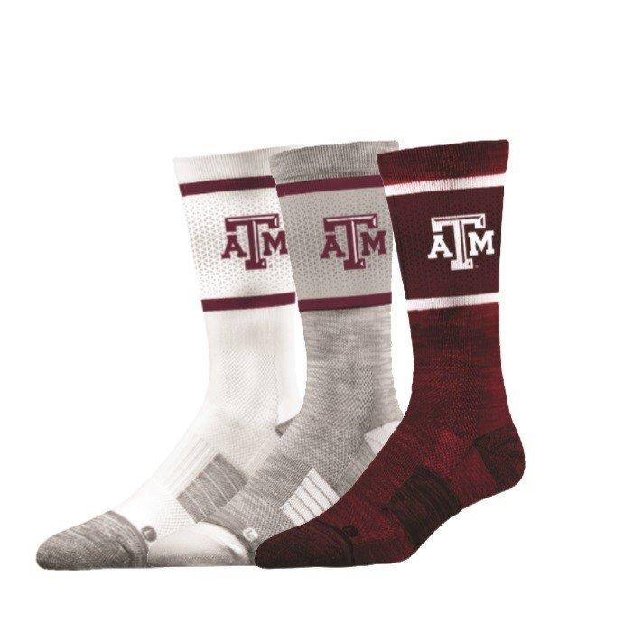 Texas A&M Aggies Socks 3-Pack