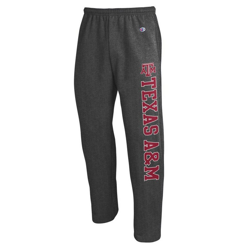 Texas A&M Aggies Sweatpants Pockets Charcoal APC02880067