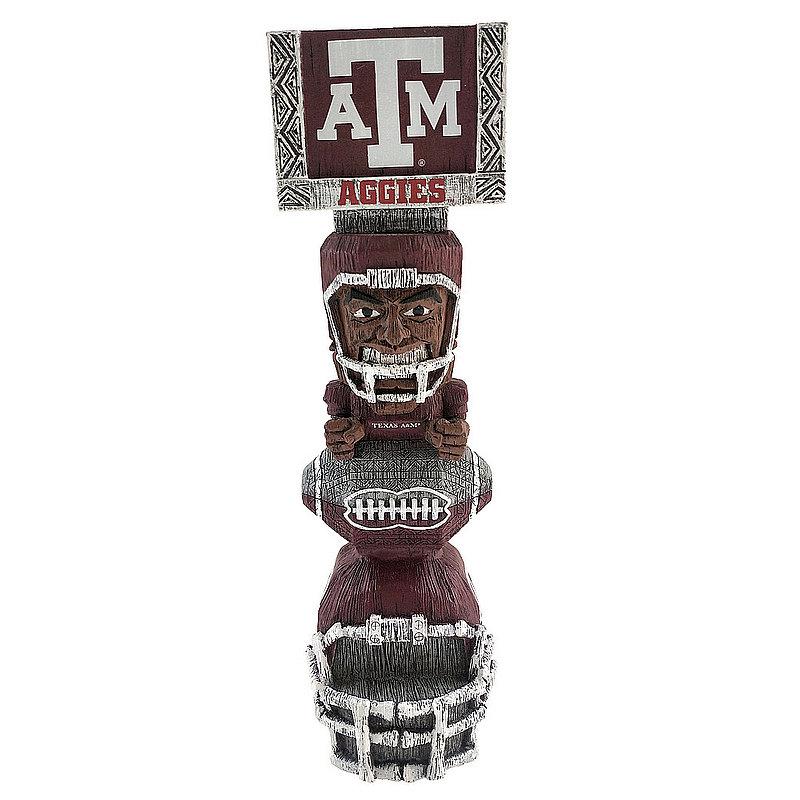 Texas A&M Aggies Tiki Totem Figurine TKNCSTKTAM