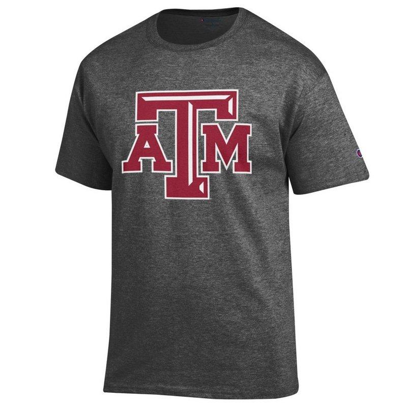 Texas A&M Aggies TShirt Icon Charcoal APC02880078