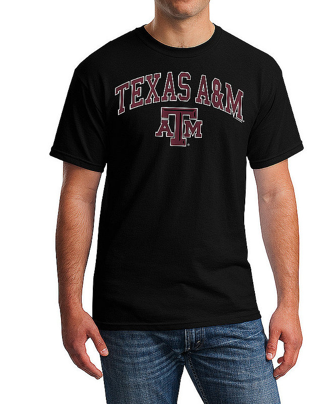 Texas A&M Aggies TShirt Varsity Black APC02880047