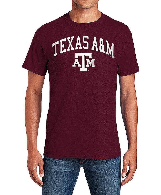 Texas A&M Aggies TShirt Varsity Maroon APC02880037