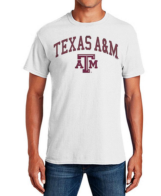 Texas A&M Aggies TShirt Varsity White APC03333914