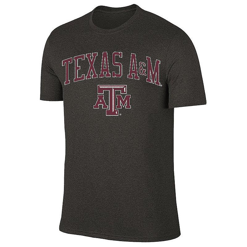 Texas A&M Aggies Vintage Tshirt Charcoal Victory TAMV2901A-_TV7051_HBK