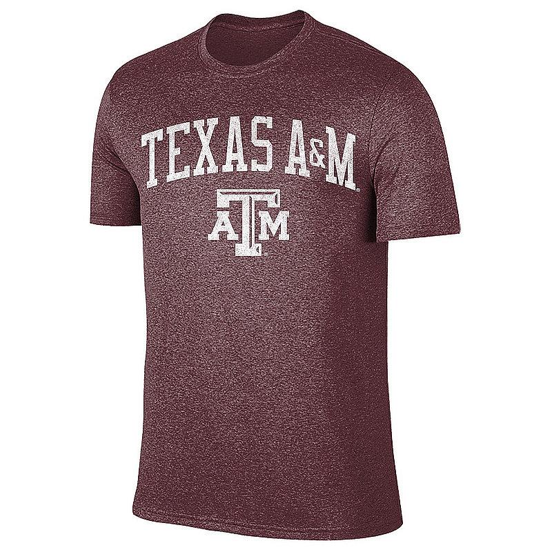 Texas A&M Aggies Vintage Tshirt Maroon Victory TV7051_TAMV1412A_HMR