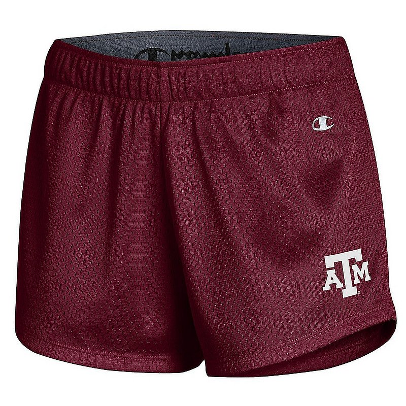 Texas A&M Aggies Women's Mesh Shorts APC03319650��