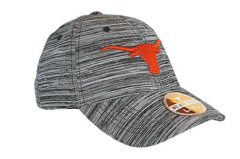 Texas Longhorns Fitted Hat Space Dyed Black CANOPUS	UT190310054