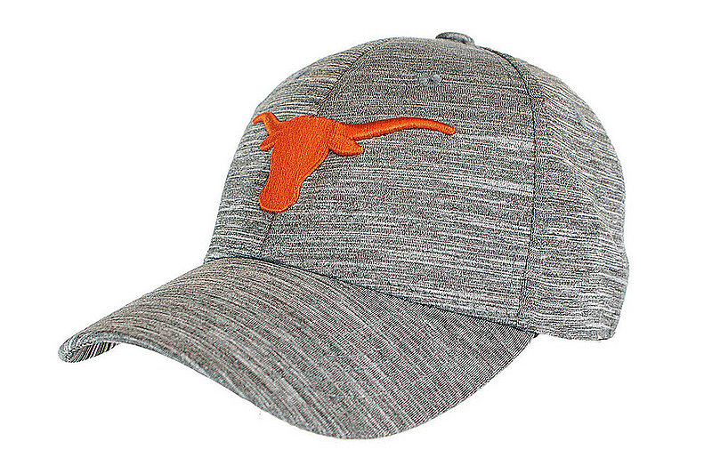 Texas Longhorns Fitted Hat Space Dyed Charcoal CANOPUS	UT190310054