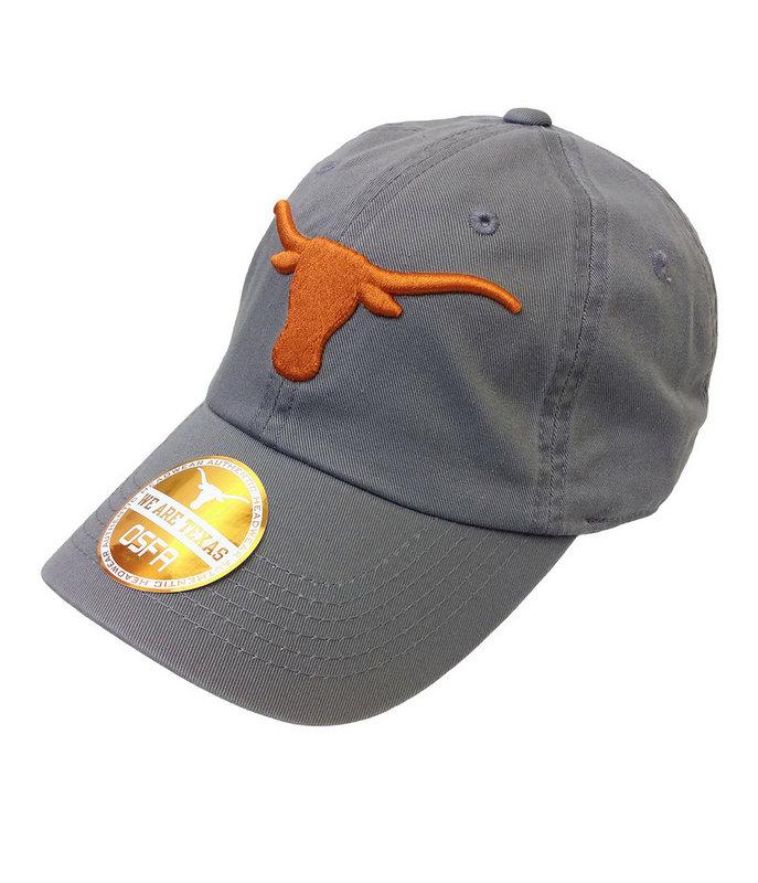 Texas Longhorns Hat Charcoal UT160310407.CHAR