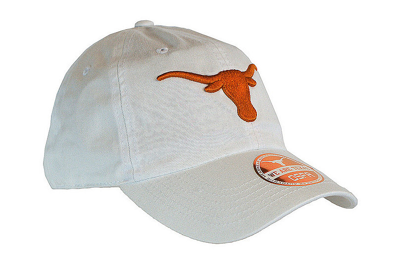Texas Longhorns Hat White STEMMONS SLOUCH UT160310407