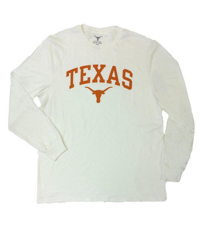 Elite Fan Shop Texas Longhorns Hooded Sweatshirt Arch Gray