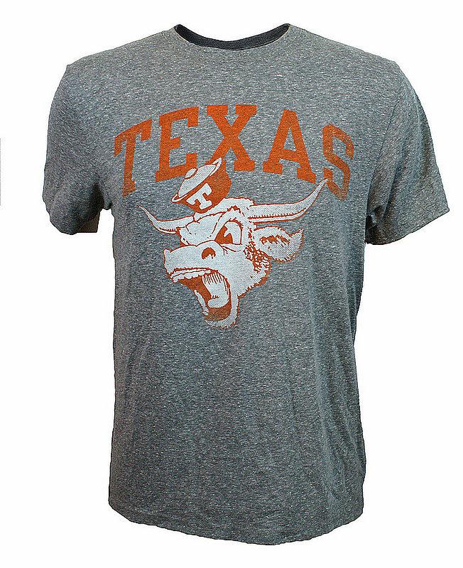 Texas Longhorns Triblend Tshirt Gray UT190210030