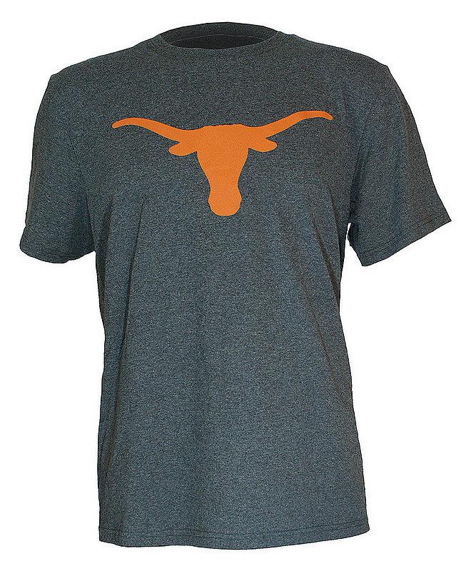 Texas Longhorns Tshirt Icon Charcoal UT160210001.HTRCHAR
