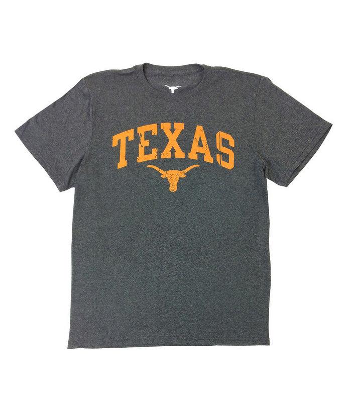 Texas Longhorns Tshirt Vintage Charcoal UT160210559.CHAR