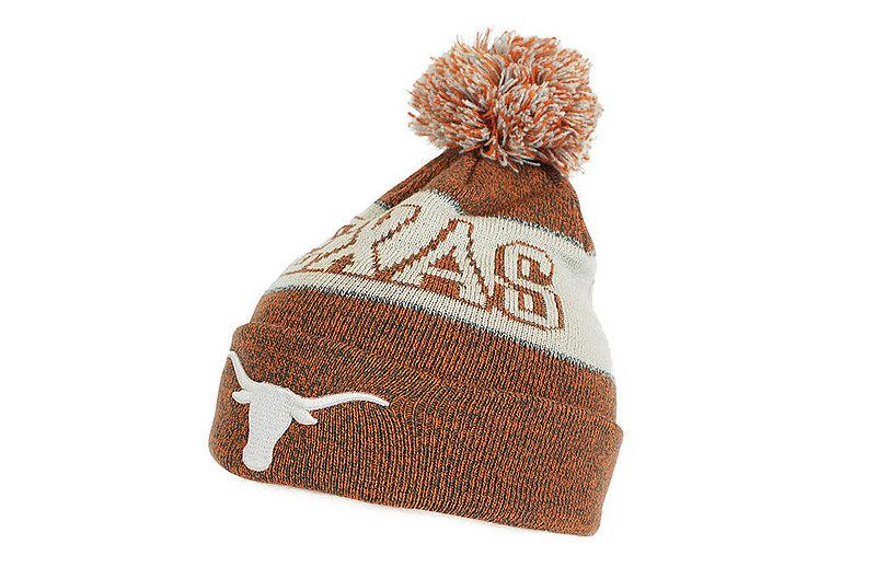 Texas Longhorns Winter Pom-pom Beanie Hat DESERT TEXASUT190310073