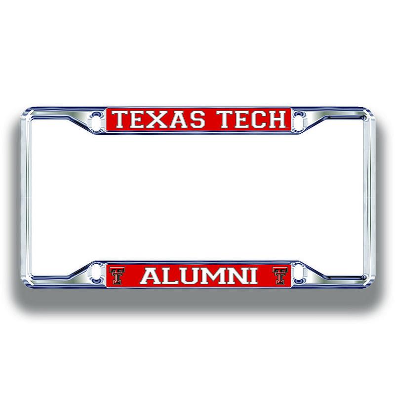 Texas Tech Red Raiders License Plate Frame Alumni 02876