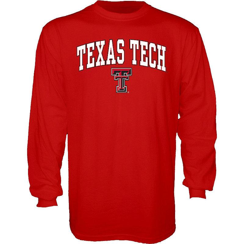 Texas Tech Red Raiders Long Sleeve TShirt Varsity Scarlet APC02961901*