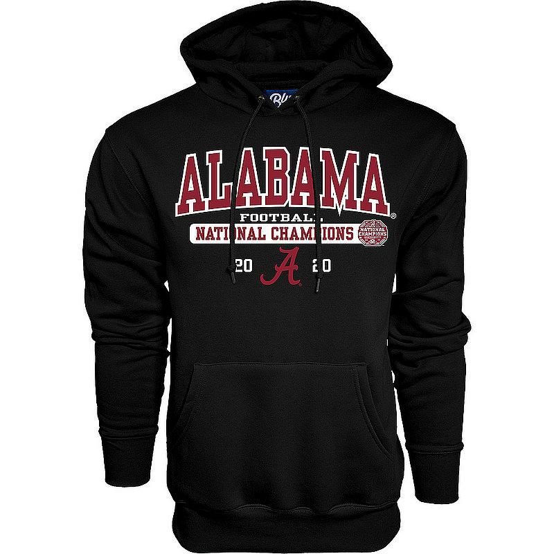 The Blue Brand Alabama Crimson Tide National Champs Hoodie 2020-2021 Bold Black 00000000BM7G6BIG TALK CFP20 NC-ALA (The Blue Brand)
