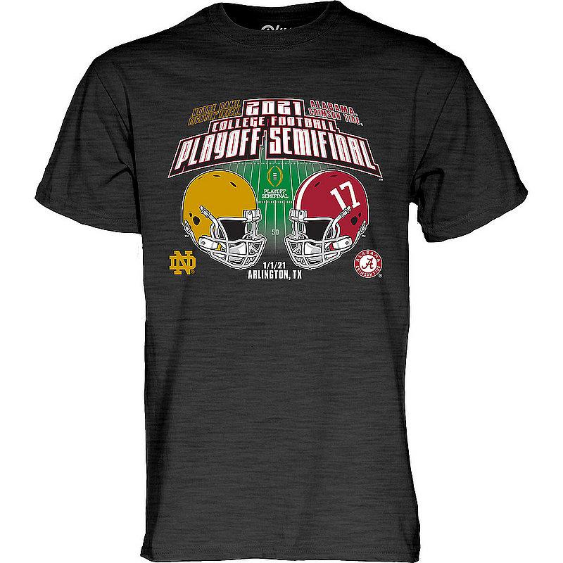 The Blue Brand Alabama vs Notre Dame Rose Bowl Mens Bowl T Shirt 2020 00000000BMTJD (The Blue Brand)