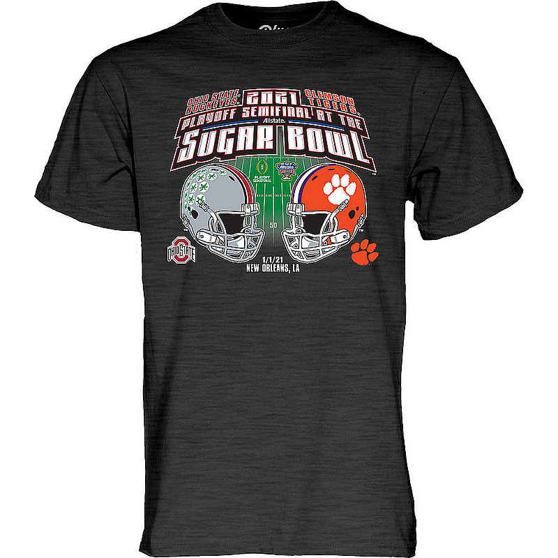 The Blue Brand Ohio State vs Clemson Sugar Bowl Mens Bowl T Shirt 2020 00000000BMTJ9 (The Blue Brand)
