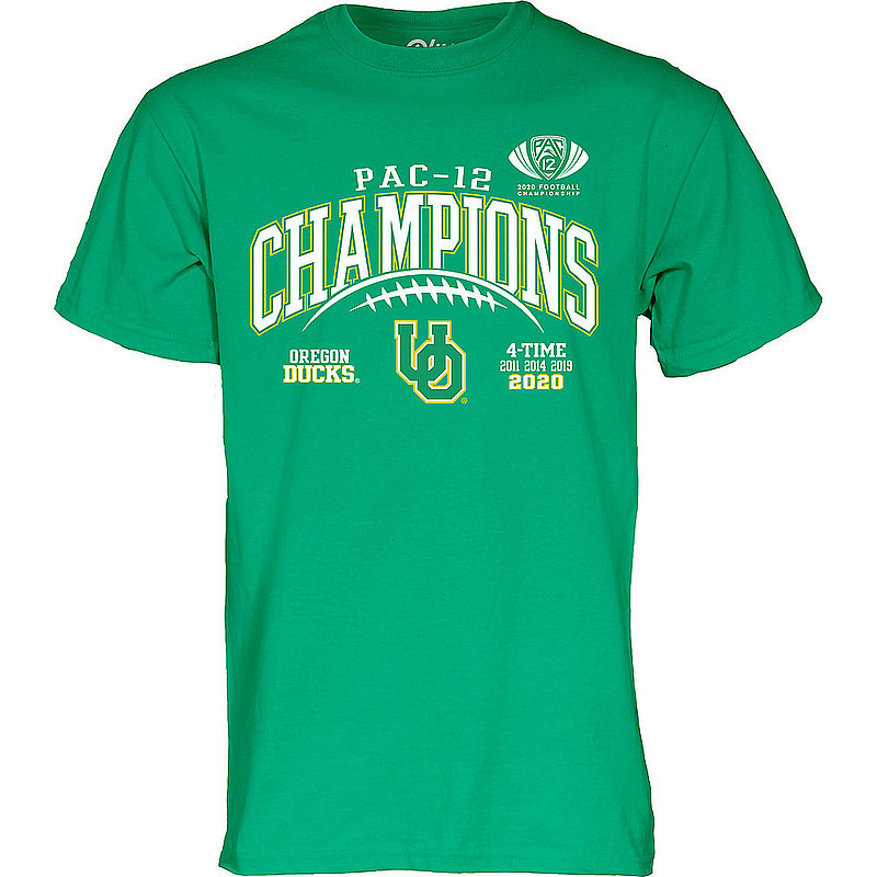 The Blue Brand Oregon Ducks Mens Conference Champs Tshirt 2020 Laces 00000000BMTJB (The Blue Brand)