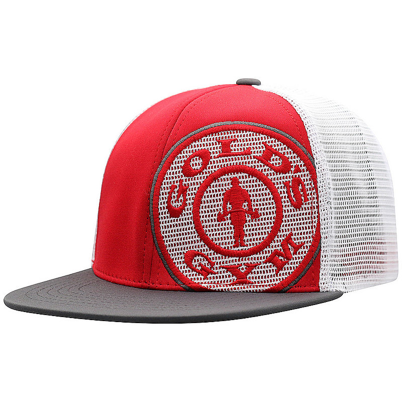 0a6c274aef681 Top Of The World Gold s Gym Snap Back Hat Red BNSH3-GLDG-ADJ-