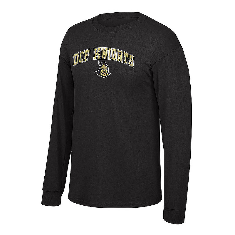 UCF Knights Long Sleeve TShirt Black UCF CHSC1419