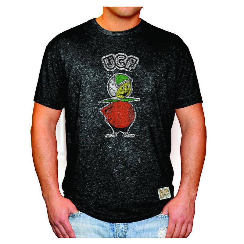 UCF Knights Retro Tshirt Black CFLR1651A_RB124M_MTBK