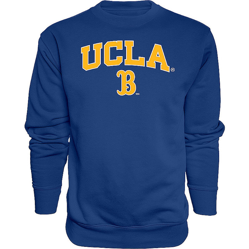 UCLA Bruins Crewneck Sweatshirt Varsity Blue Arch Over BCRXJ