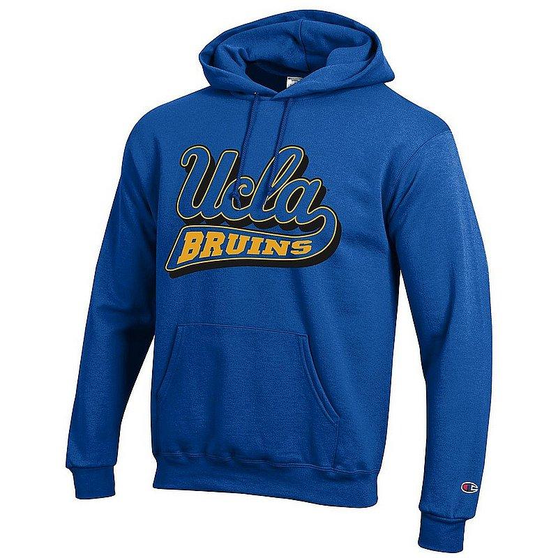 a4ed99db UCLA Bruins Hooded Sweatshirt Icon Blue APC02962860