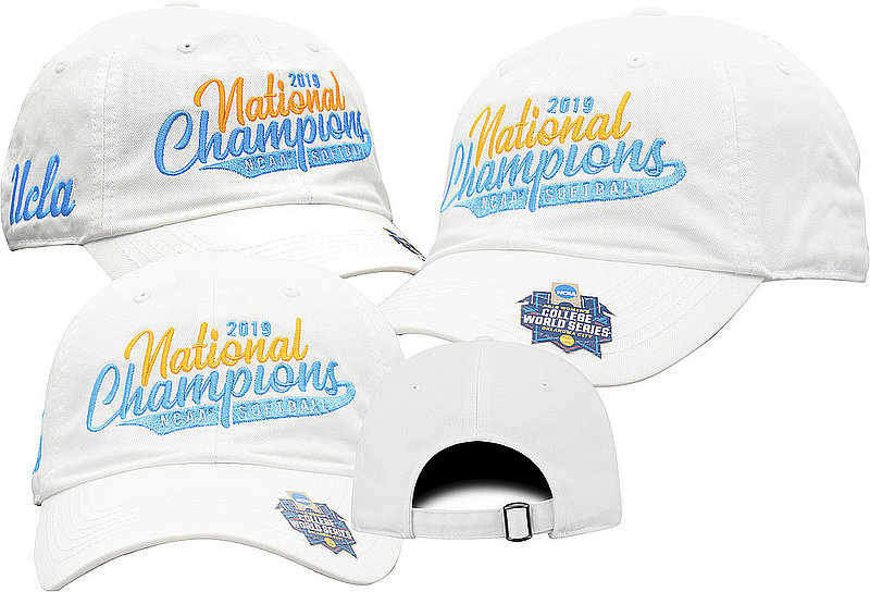 UCLA Bruins National Softball Champions Hat 2019 College World Series CWSW-SFBLC-19C-CA