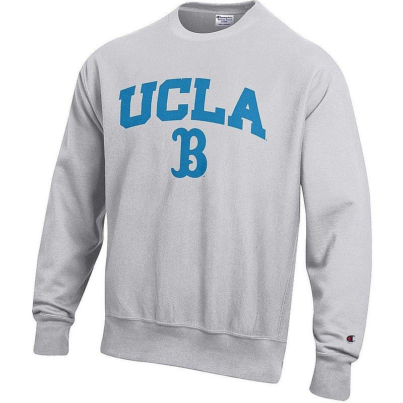 UCLA Bruins Reverse Weave Crewneck Sweatshirt Gray APC03005051