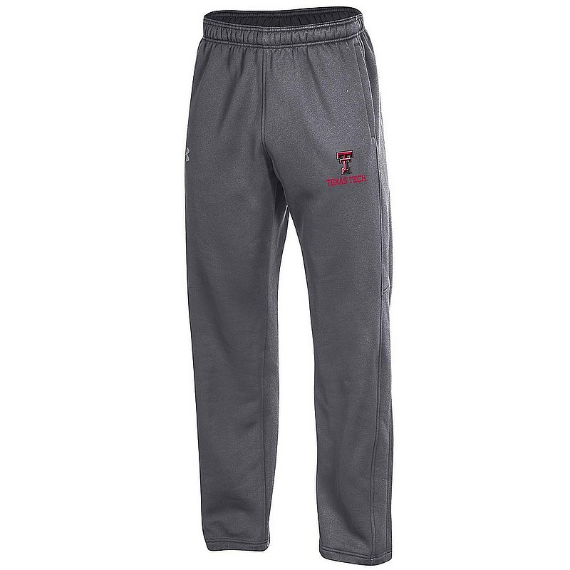 Under Armour Texas Tech Red Raiders Performance Sweatpants Charcoal APU03031070 (Under Armour)