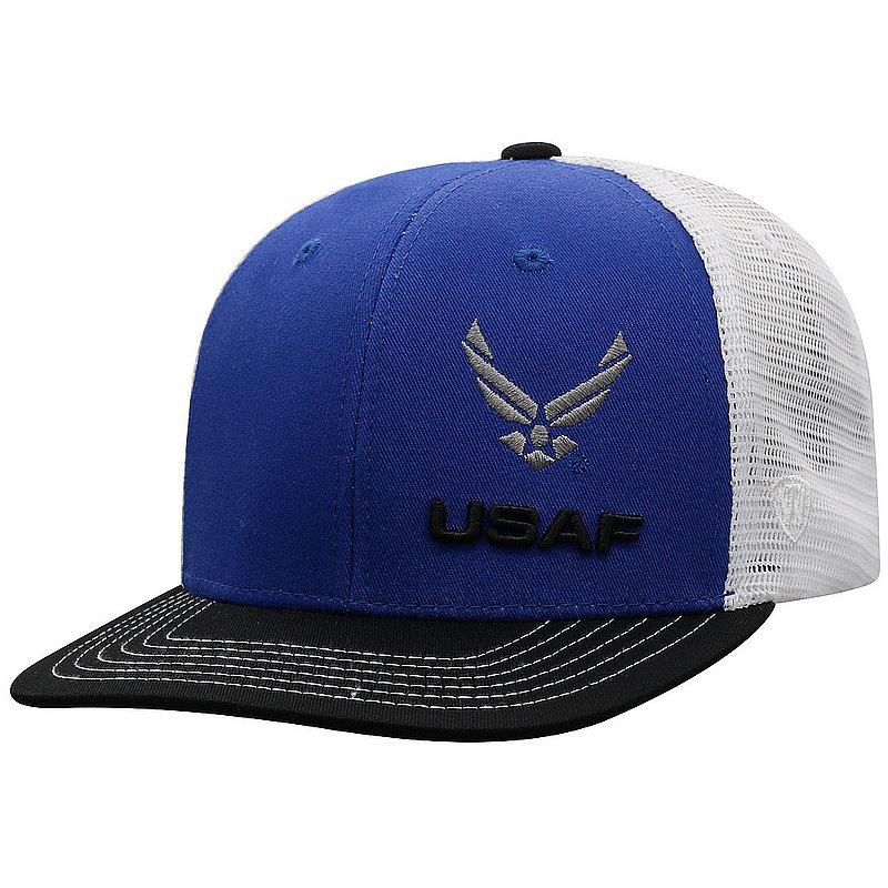 US Air Force Armed Forces Military Flat Bill Hat FXTR-USAF-ADJ-3TN