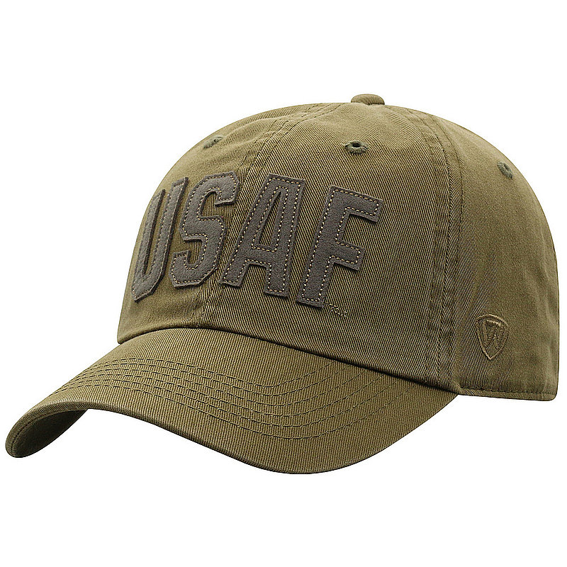 US Air Force Armed Forces Military Hat Military Green DSTC1-USAF-ADJ-OLV
